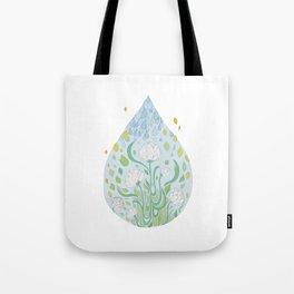 Waterflowers Tote Bag