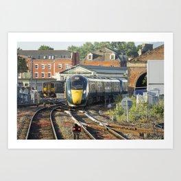 Exeter St Davids IET  Art Print