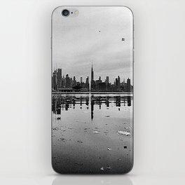 CITY REFLECTION iPhone Skin