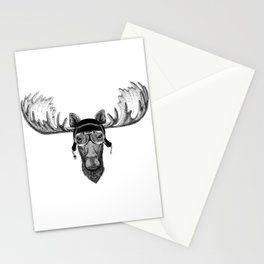 Moose Pilot Stationery Cards