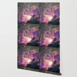 Rebirth | Galaxy Abstract Painting Wallpaper