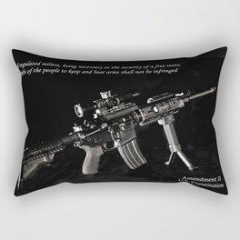 2nd Amendment Rectangular Pillow