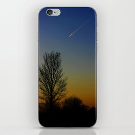 Shoot across the sky.... iPhone Skin