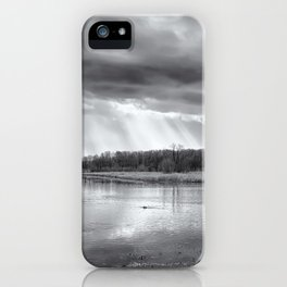 Birdland BW iPhone Case