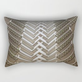 John Portman's Atlanta Rectangular Pillow