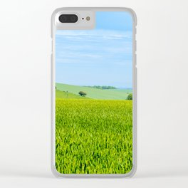 Bignor Hill. Clear iPhone Case