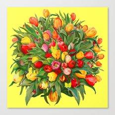 Tulip Bouquet Canvas Print
