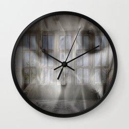 Forbidden Wall Clock