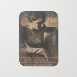 disappear until mourning.. Bath Mat