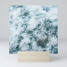 Waves in Abstract Mini Art Print