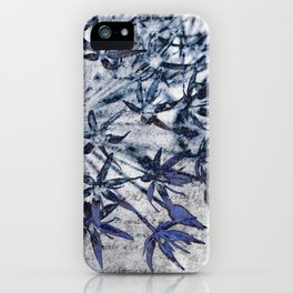 blue stars iPhone Case