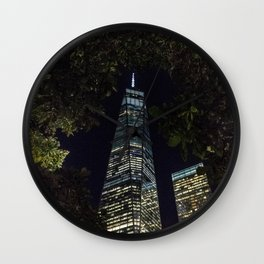Freedom through the trees - NYC Wall Clock