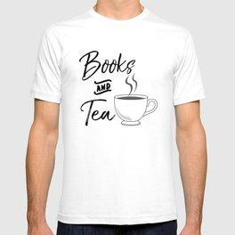 Books & Tea T-shirt