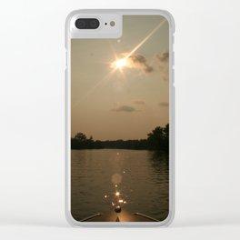 Coke Boat Clear iPhone Case