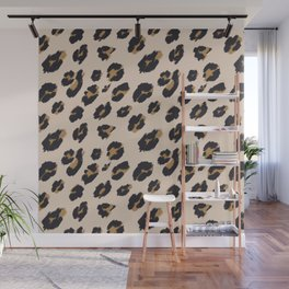 B&B Leopard Design Wall Mural