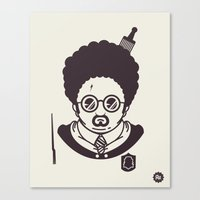 potter Canvas Prints featuring Barry Potter by Ryder Doty