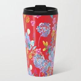 Fridas Flowers Travel Mug