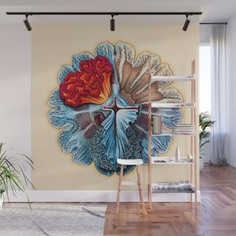 Ernst Haeckel Revisited Wall Mural