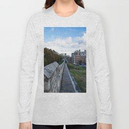 A walk along the wall Long Sleeve T-shirt
