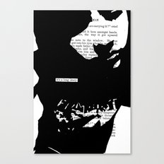 It's a Long Story Canvas Print