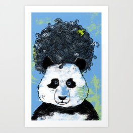 Mad Panda Art Print