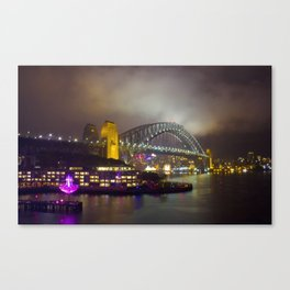 Vivid Bridge Canvas Print