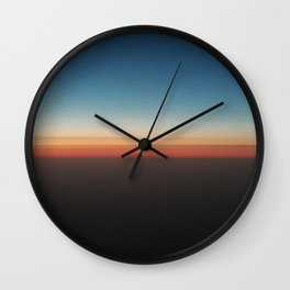 Celebratory Horizon Wall Clock