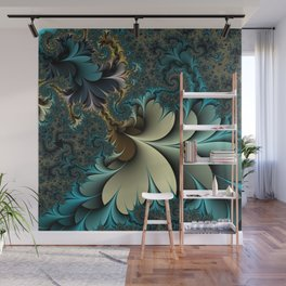 Birds of a Feather Fractal Wall Mural