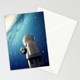 Neil in the galaxy Stationery Cards
