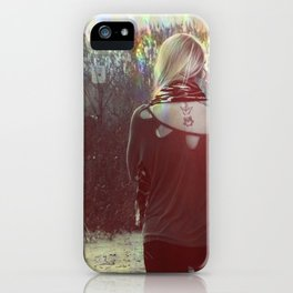 The light iPhone Case
