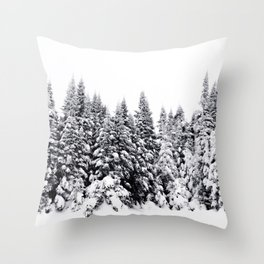 Snow Day Has Come Throw Pillow