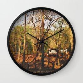 Crickets Chime House Wall Clock