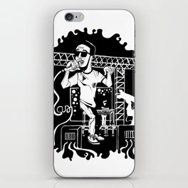 Man on the moon iPhone Skin