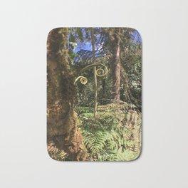 The Ferns of the Cloud Forest Bath Mat