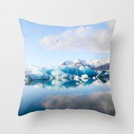 Icelandic landscape #society6 #decor #buyart Throw Pillow