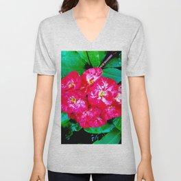 Flowers_109 Unisex V-Neck