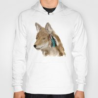 coyote Hoodies featuring Coyote by bri.buckley