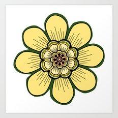 Flower 10 Art Print