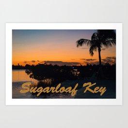 Sugarloaf Key Art Print