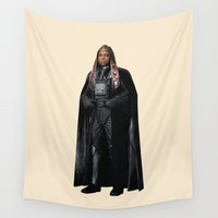 doom Wall Tapestries featuring Darth Doom by Parissis