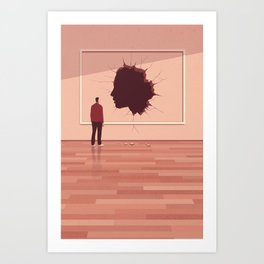 The Missing Portrait Art Print