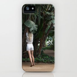 Vacation Postcard iPhone Case
