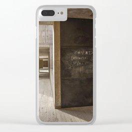 E= Mc2 Clear iPhone Case