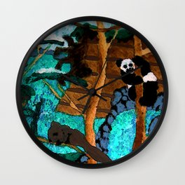 Into the Forest Wall Clock