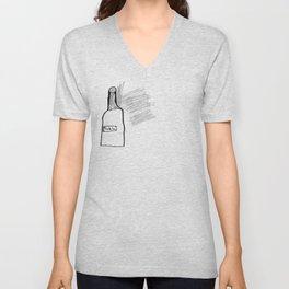 Bottle of Milk Unisex V-Neck