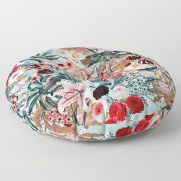 Summer Botanical Garden XIII Floor Pillow