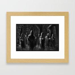 Knife in the Dark Framed Art Print