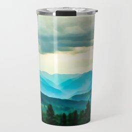 Clouded Beauty Travel Mug