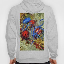 Christmas tinsel and baubles Hoody