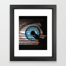 Window of the Soul Framed Art Print